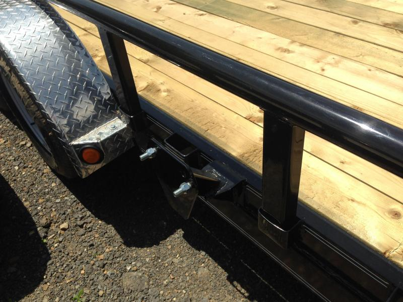 83x20 PJ Utility Trailer Dovetail and Rear Ramps-CLEARANCE