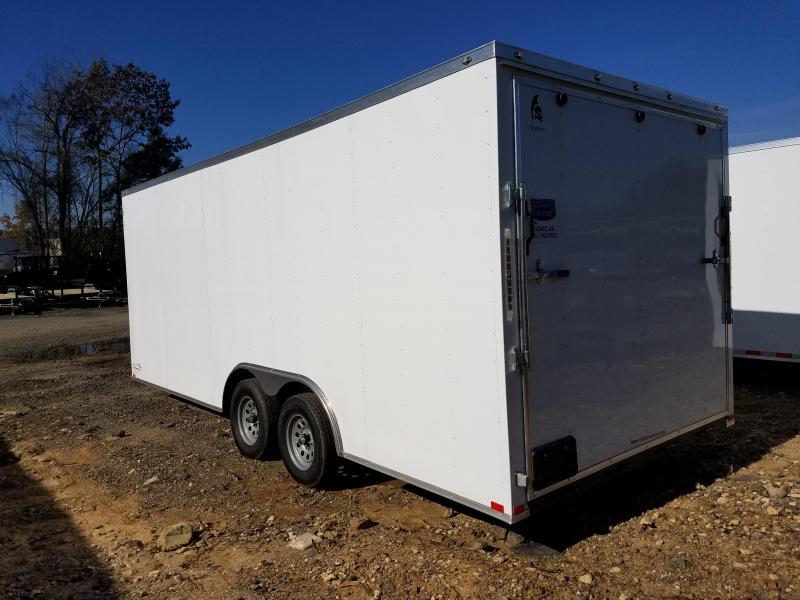 8.5x20 Cargo-3500lb axles-7' height-ramp door
