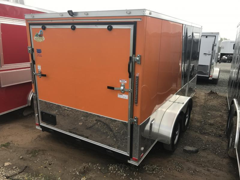 7x14 Enclosed Motorcycle Trailer-CLEARANCE