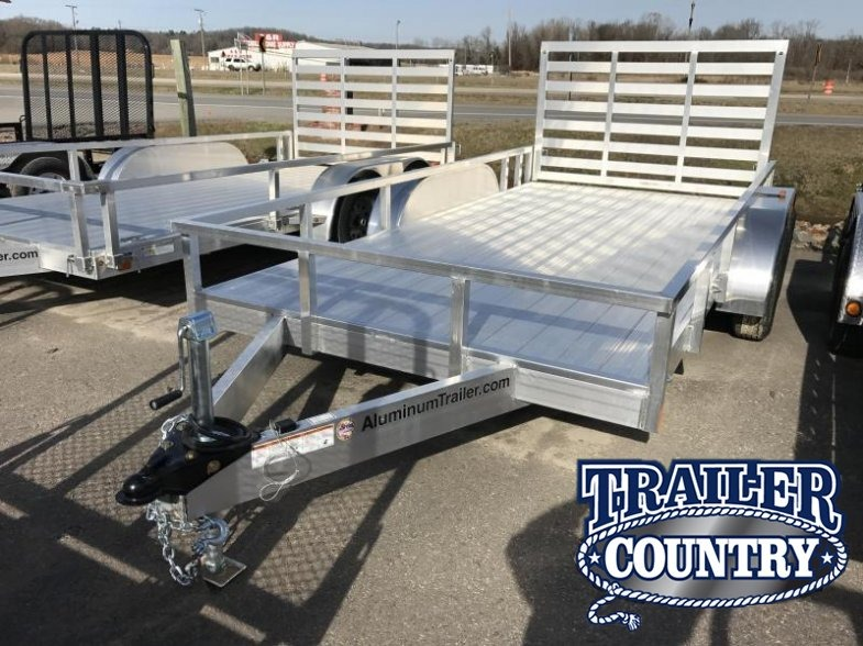 7x14 ATC Tandem Aluminum Utility Trailer-CLEARANCE
