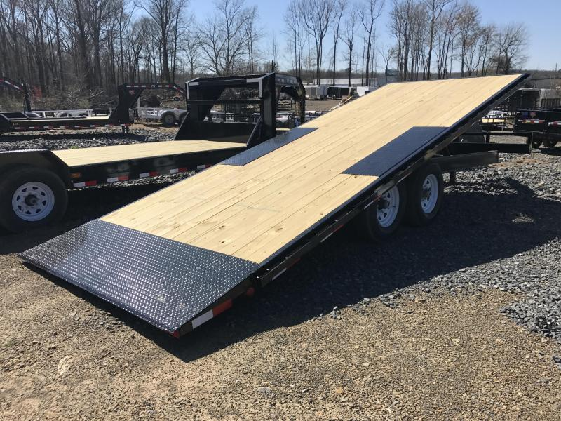 96x22' PJ Deckover Tilt Equipment Trailer