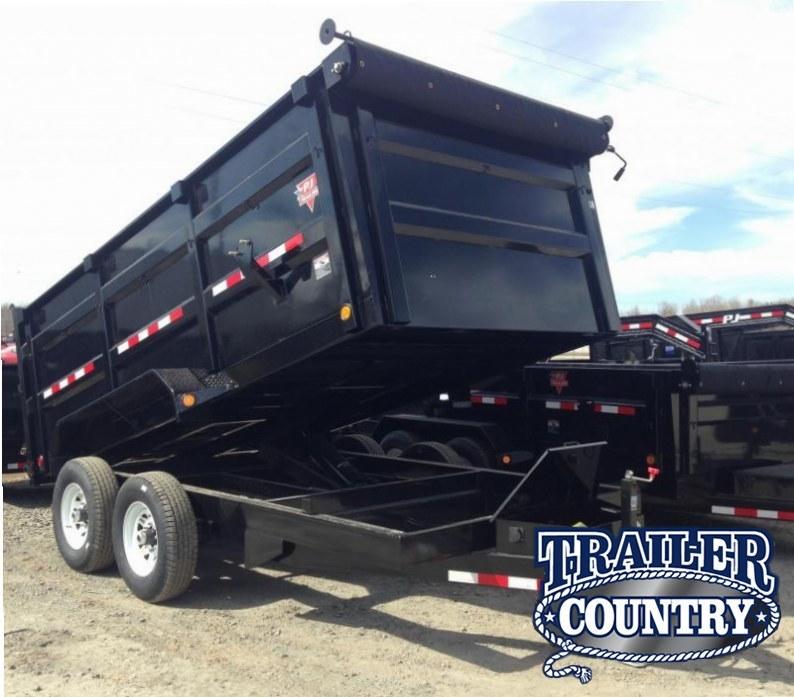 83x14 PJ High Side Dump-4' Sides-Tarp Included