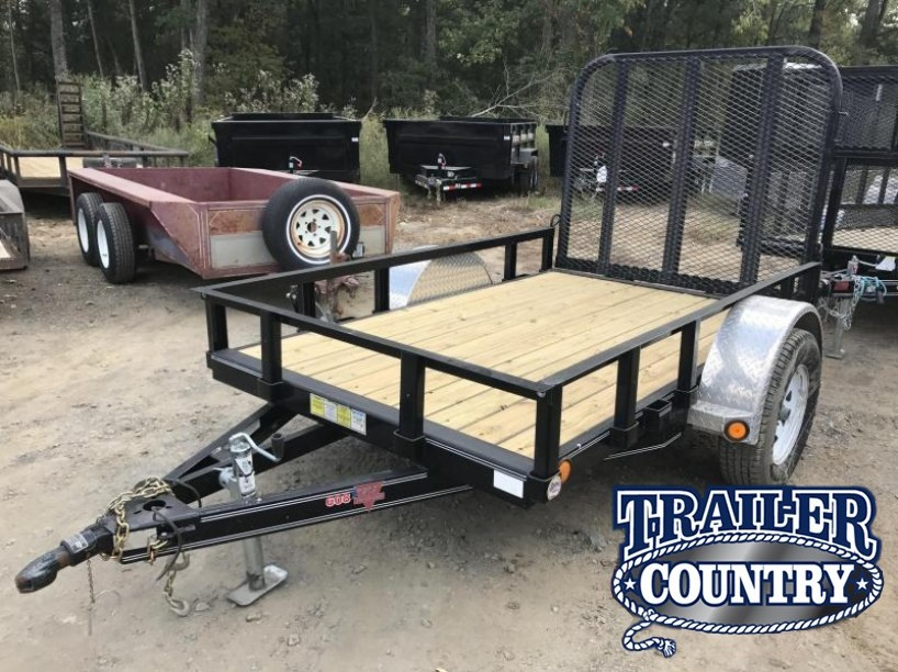 USED 5x8 PJ Utility Trailer