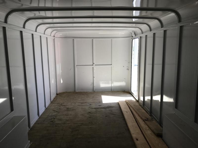 USED 8x20 Delta Enclosed Cargo Trailer