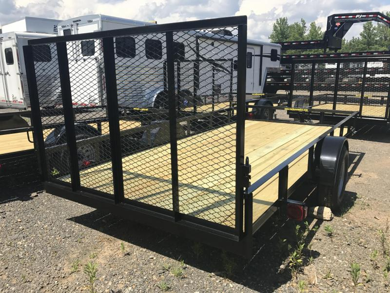 77x14 Precision Utility Trailer-Rear Gate-CLEARANCE