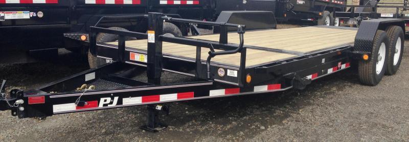 83x20 PJ Equipment Tilt Trailer-7000lb Axles