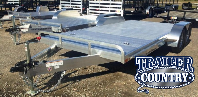 82x18 All Aluminum Car Hauler Trailer-CLEARANCE