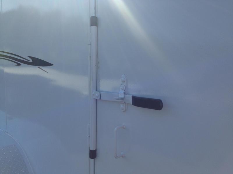 6x12 Delta Steel Cargo Trailer-Double Doors-CLEARANCE