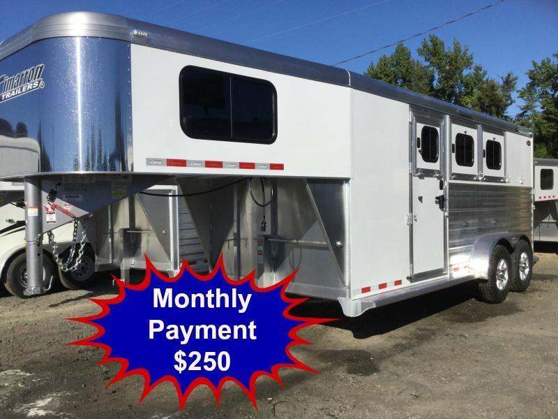 2017 CIMARRON NORSTAR 3H SLANT WITH FRONT TACK ***JUST REDUCED***