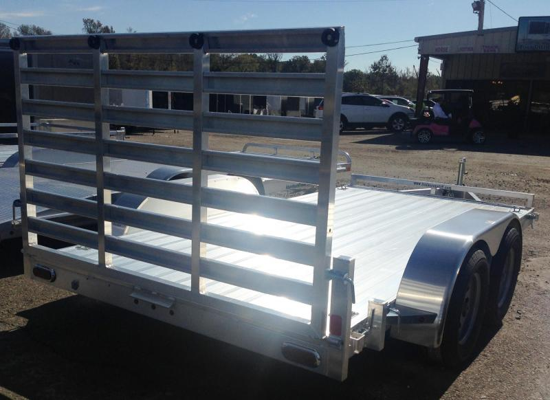 7x14 All Aluminum Utility Trailer-Torsion Axles-CLEARANCE