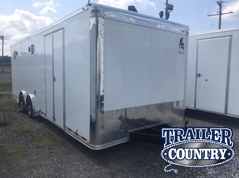 8.5x24 Enclosed Race Trailer-CLEARANCE