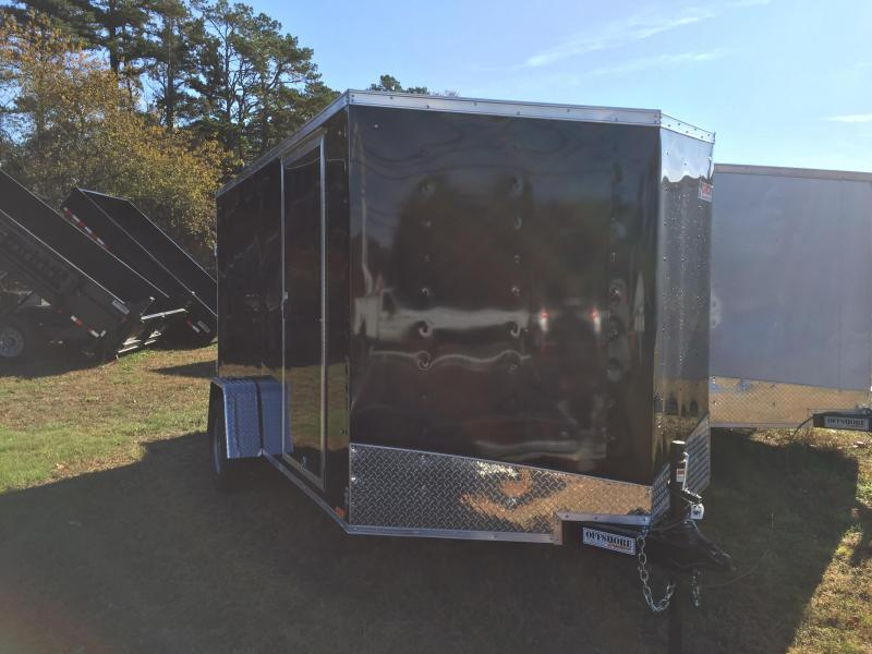 2018 Pace American Outback 7x12 Cargo Deluxe Cargo / Enclosed Trailer