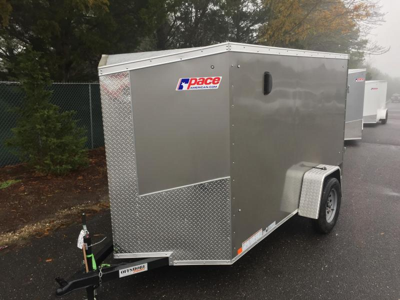 2017 Pace American jv5x10s12 Enclosed Cargo Trailer