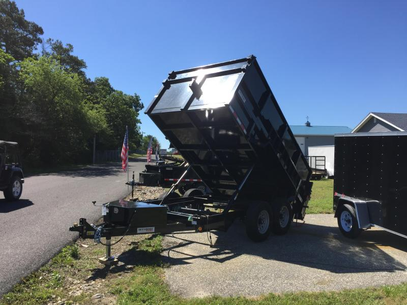2018 Quality Steel and Aluminum 7x12lp high side Dump Trailer