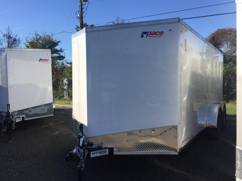 2018 Pace American Outback Cargo Dlx Cargo / Enclosed Trailer