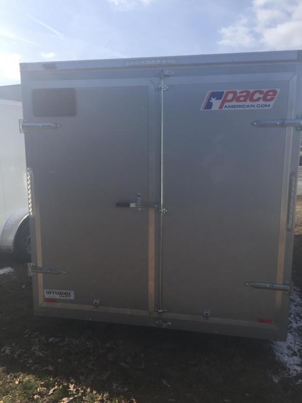 2017 Pace American OB7162 Enclosed Cargo Trailer