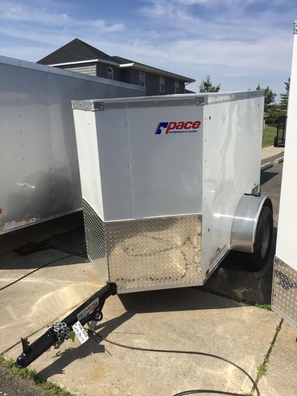 2017 Pace American jv4x6s12 Enclosed Cargo Trailer