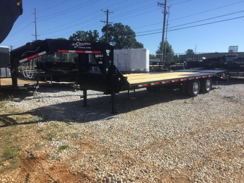 2017 Starlite Trailers 25TDGN-LP Flatbed Trailer