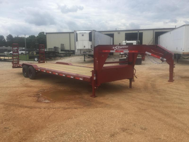 2017 Starlite Trailers 102-2810IGN-DOF Flatbed Trailer