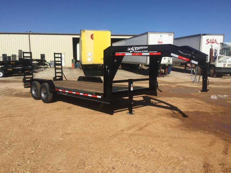 2017 Starlite Trailers 82-206CR-DV-GN Equipment Trailer