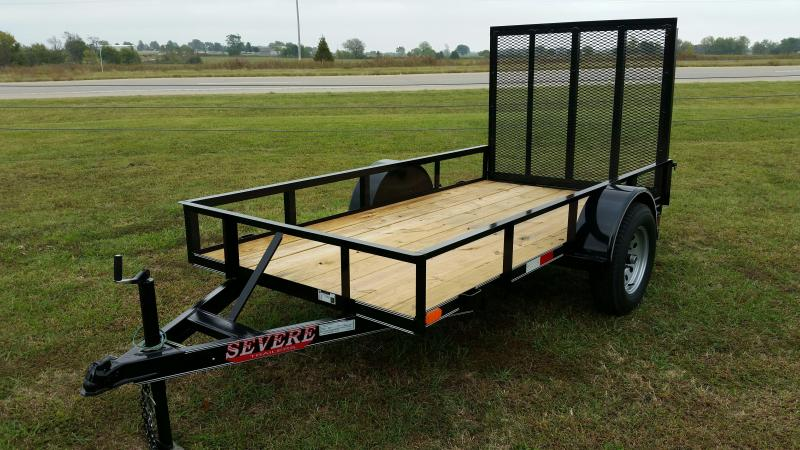 5x10 Utility Trailer ATV Flatbed