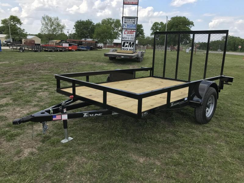 2016 texline 77x10 flatbed utility trailer trailer for 5x10 wood floor trailer