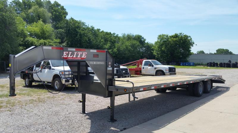 Gooseneck Elite Flatbed Trailer