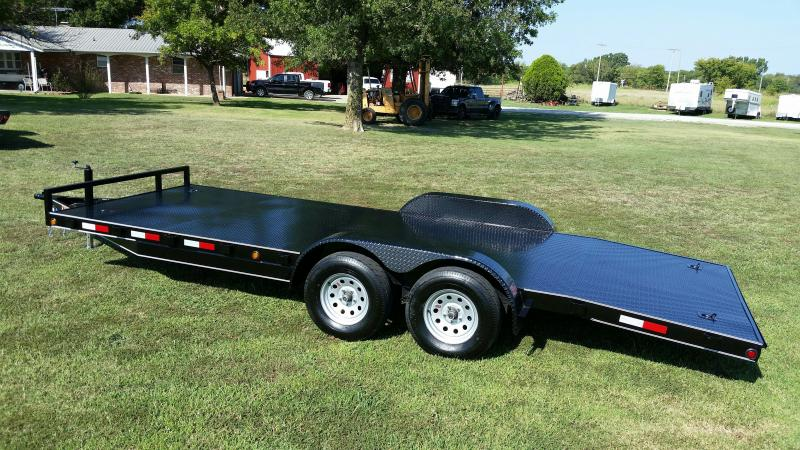 83x20 Car Hauler  / Racing Trailer