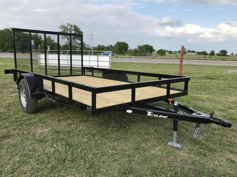 Used  X Utlity Lawn Trailer Flat Bed