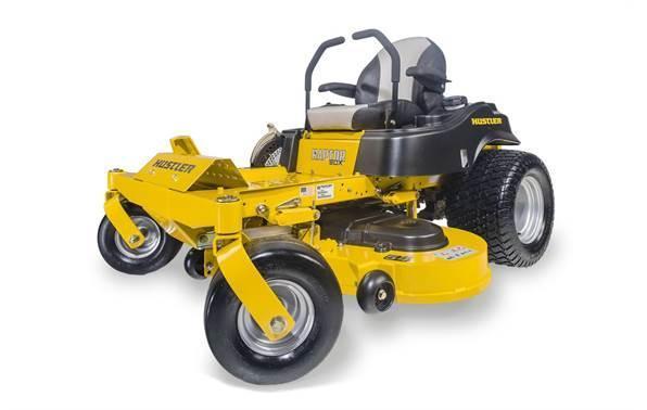 Hustler lawn equiptment