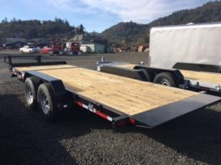 "2018 Diamond C 82""x20 Split Tilt Deck Flatbed Trailer J1193858"