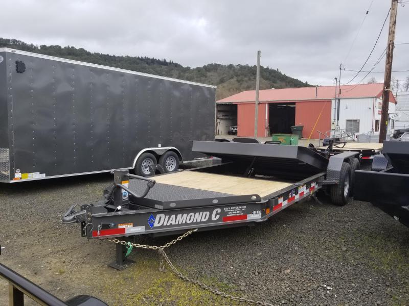 2018 Diamond C Trailers 48HDT 82X20 SPLIT TILT Flatbed Trailer