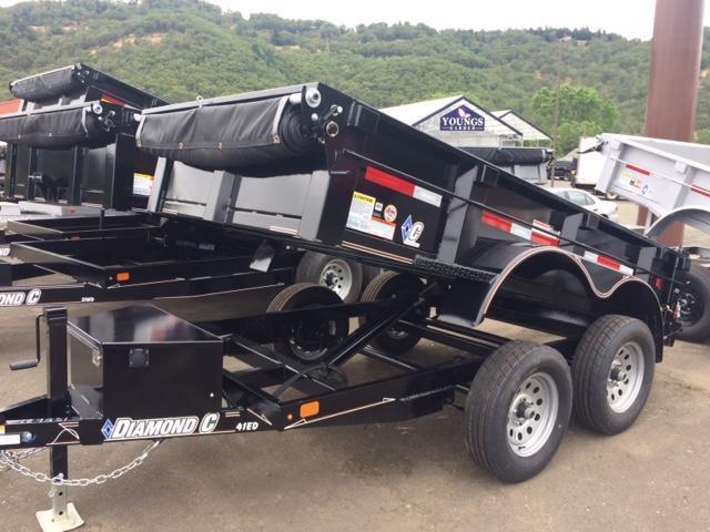 2017 Diamond C 5x10 Dump Trailer H1189931