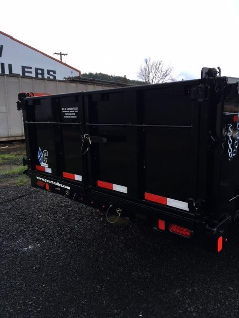 2018 Diamond C Trailers 21WD 82x16 Gooseneck Dump Trailer