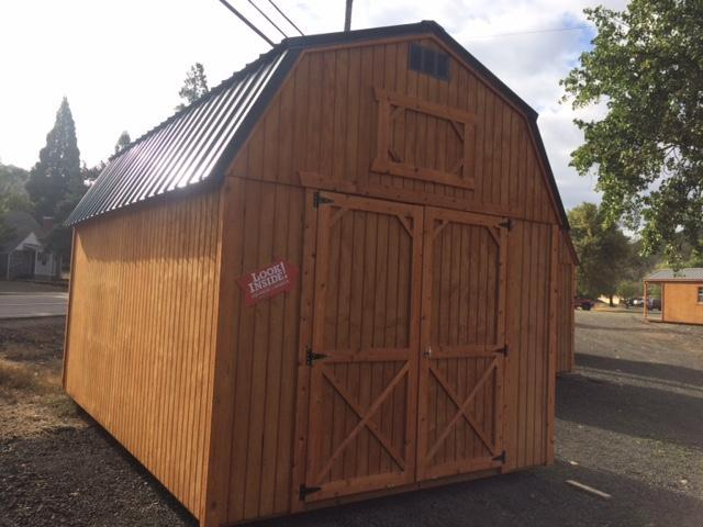 Old Hickory Sheds 10x16 Lofted Barn T2778