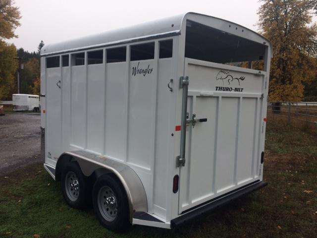 2018 Thuro-Bilt 2H Wrangler Horse Trailer JR180044