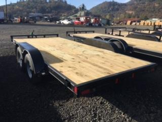 "2018 Diamond C 83""x16 Car Hauler Flatbed Trailer J1193854"