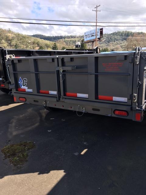 2018 Diamond C Trailers 21WD 14X82 HD Dump Trailer