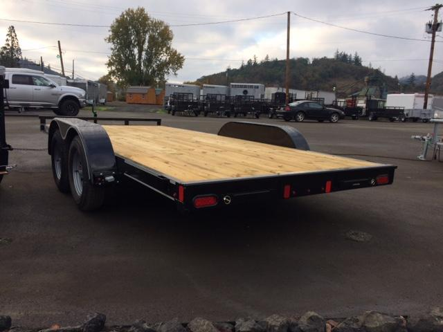 "2018 Diamond C 83""x16 Car Hauler Flatbed Trailer J1194347"