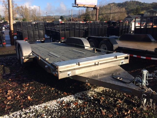 2001 Asembly 6x16 Flatbed Trailer OR84234