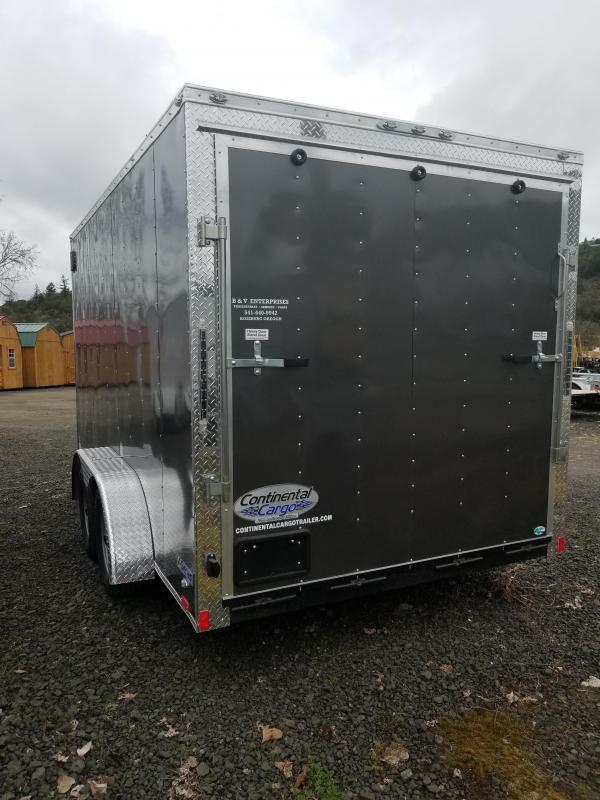 2018 Continental Cargo VHW714TA2 7x14 Enclosed Cargo Trailer