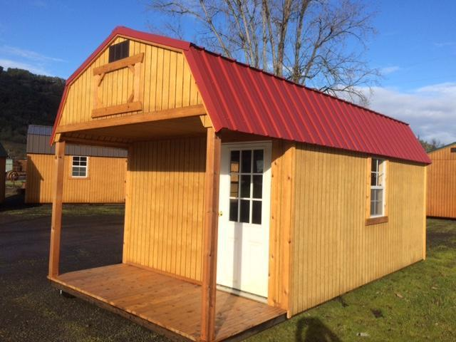 Old Hickory Shed 10x20 Lofted Playhouse L1663