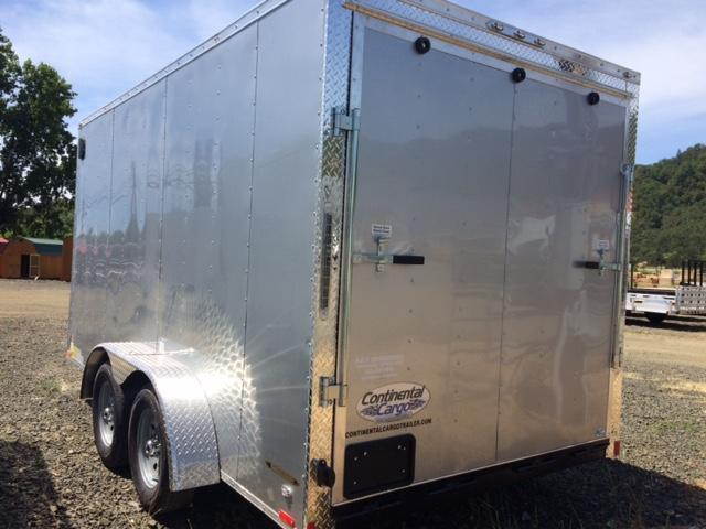 2018 7x14 Continental Cargo Trailer JF708746