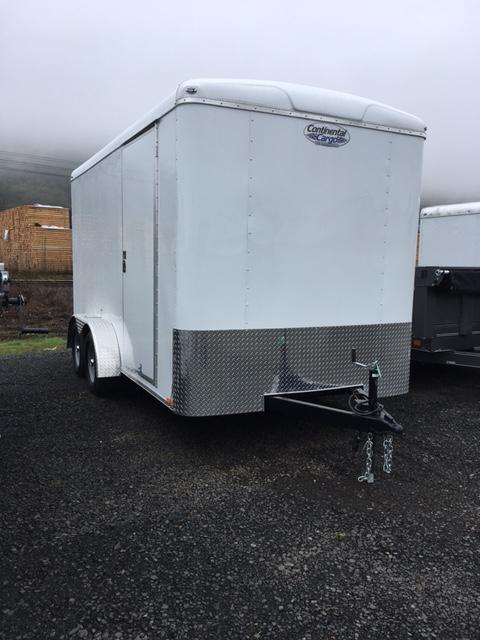 2018 7x14 Continental Cargo Trailer JF711251
