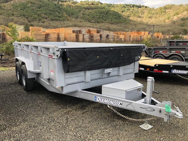 "2018 Diamond C 82""x14 Dump Trailer J1195047"