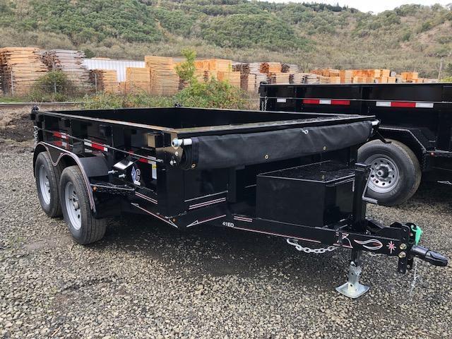 """2018 Diamond C 77""""x10 Dump Trailer J1194931"""