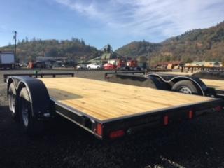 "2018 Diamond C 83""x16 Car Hauler Flatbed Trailer J1193851"