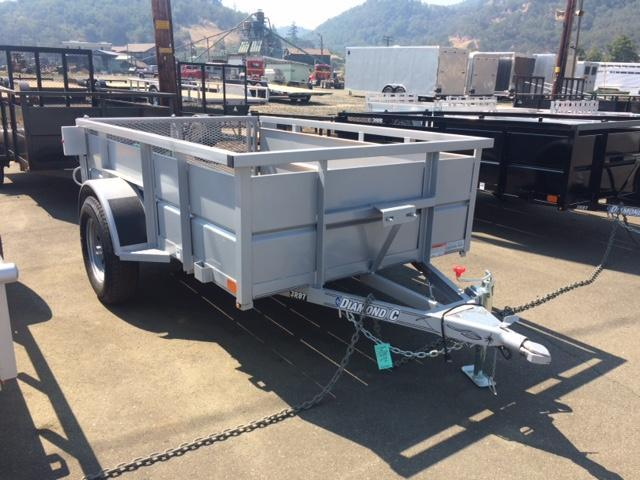 2017 Diamond C 5x8 Box Trailer H1191658