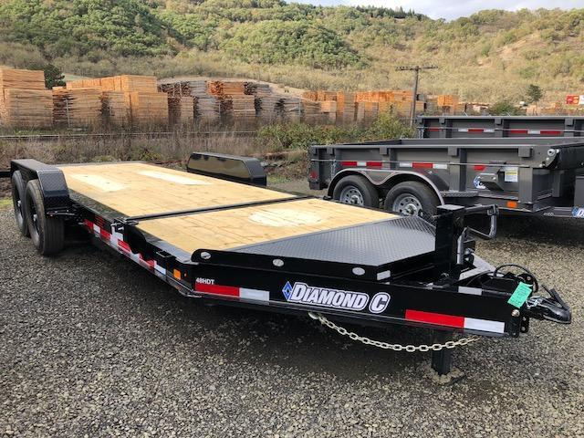 "2018 Diamond C 82""x20 Split Deck Tilt Flatbed Trailer J1194881"