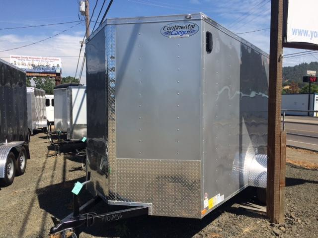 2018 6x10 Continental Cargo Trailer JF710256